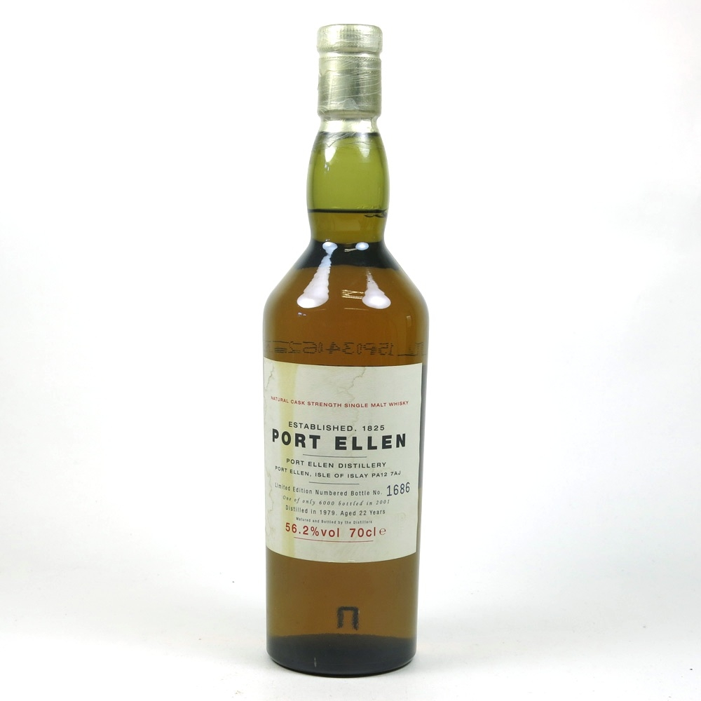 Port Ellen 1979 22 Year Old 1st Release Front