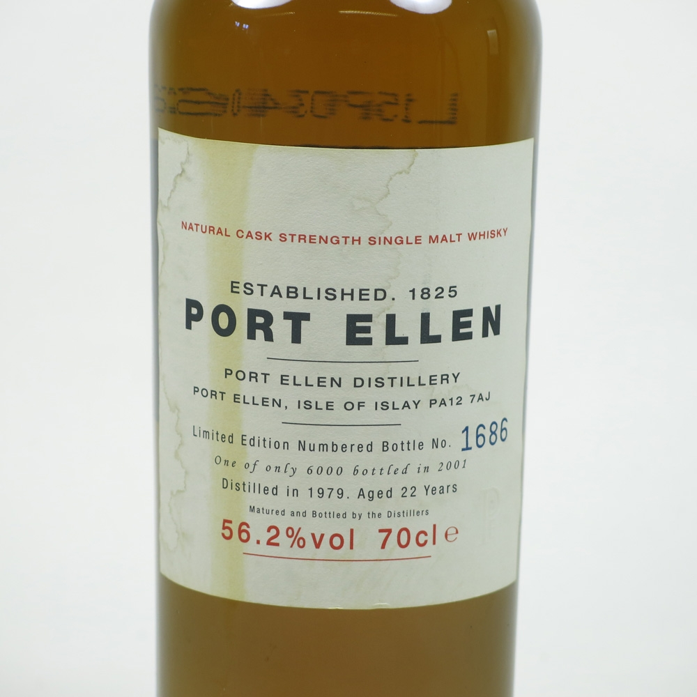 Port Ellen 1979 22 Year Old 1st Release Front Damage