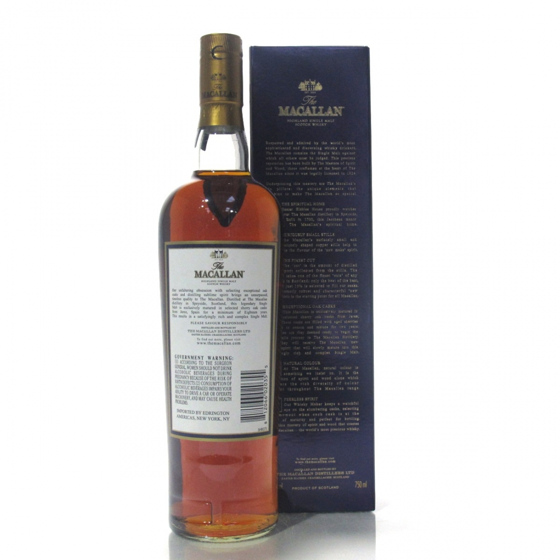 Macallan 1997 18 Year Old 75cl / US Import