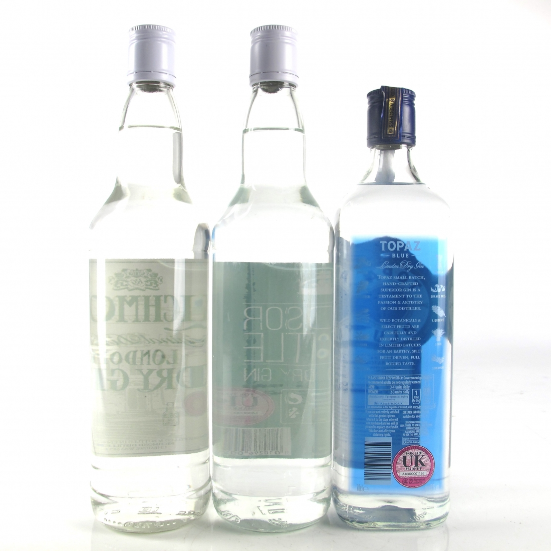 Miscellaneous Gin Selection 3 x 70cl