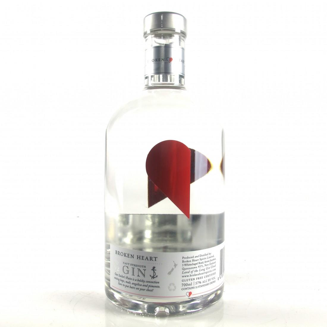 Broken Heart Navy Strength New Zealand Gin