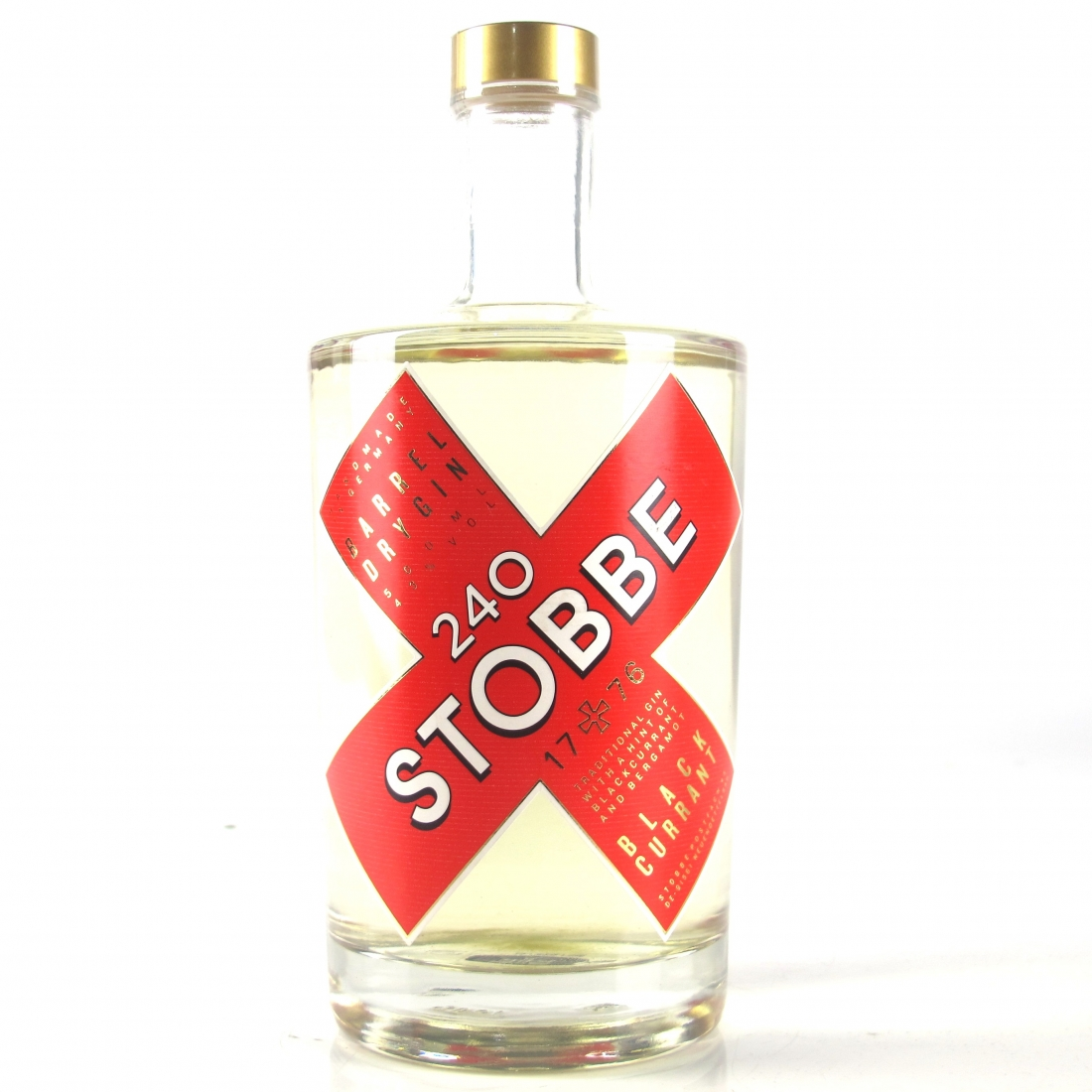 Stobbe 240 Blackcurrant Barrel Dry Gin 50cl