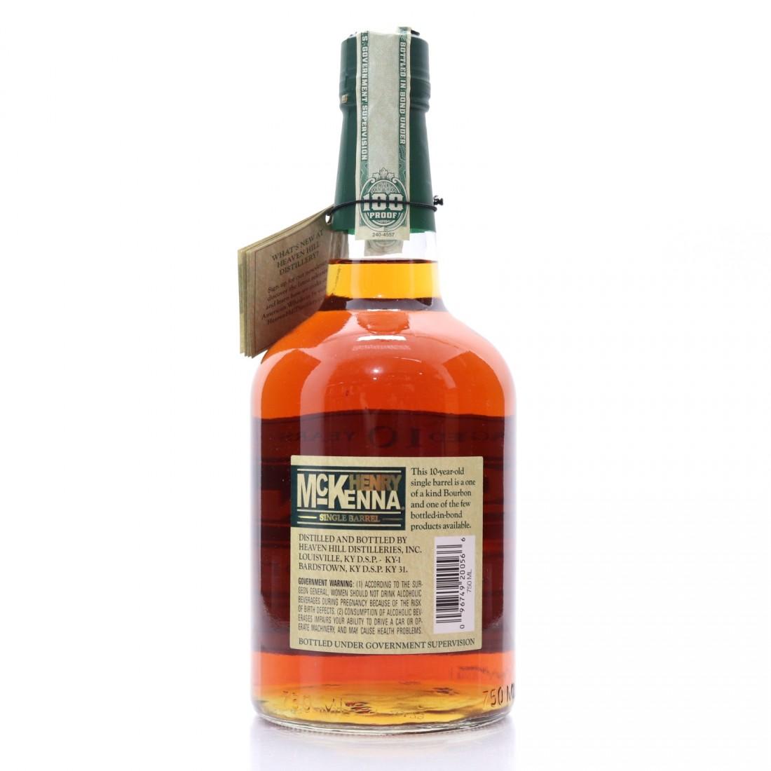 Henry McKenna 2007 Single Barrel Bourbon 10 Year Old #3656