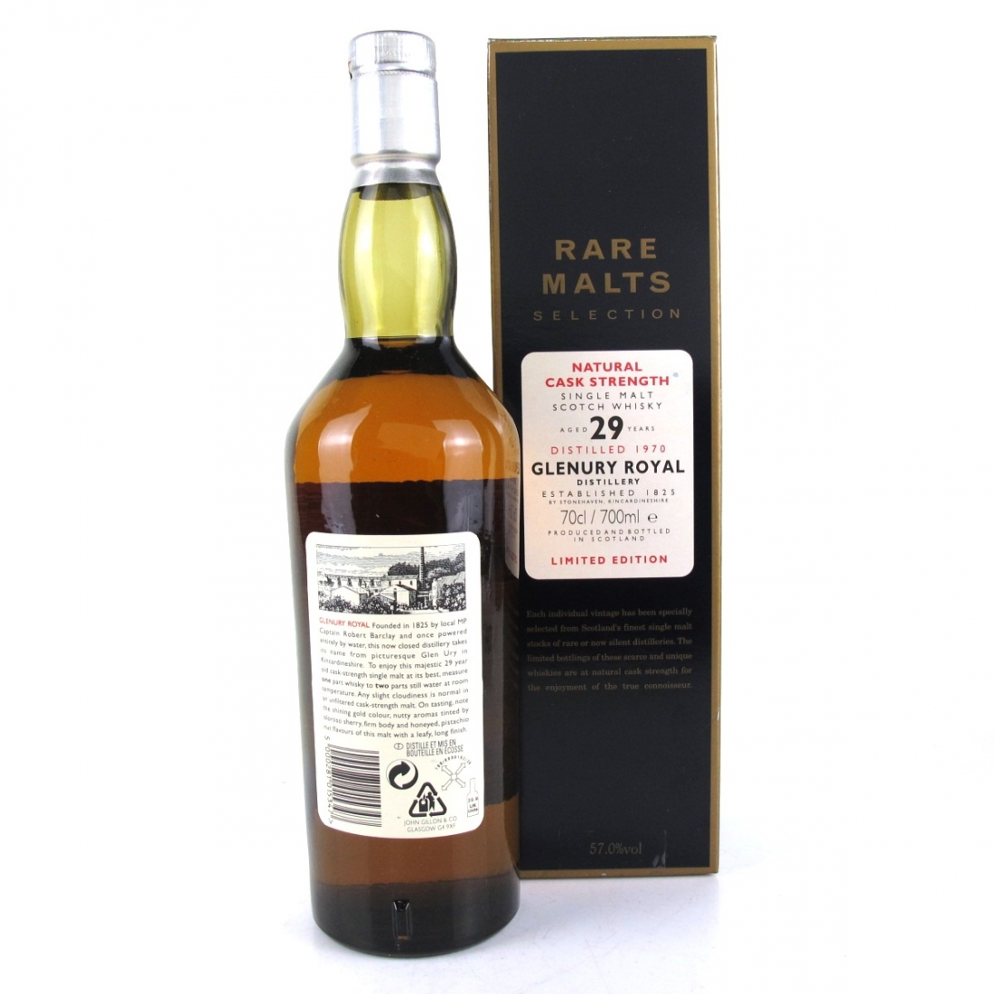 Glenury Royal 1970 Rare Malt 29 Year Old / 57%