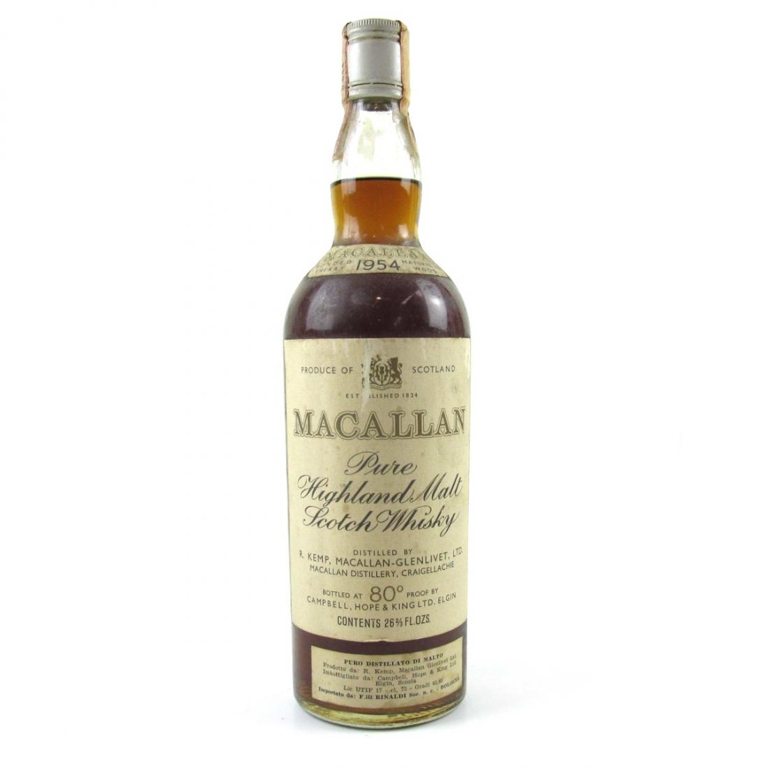 Macallan 1954
