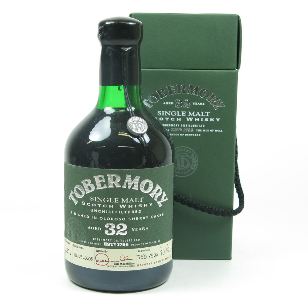 Tobermory 1972 Oloroso Sherry Finish 32 Year Old Front