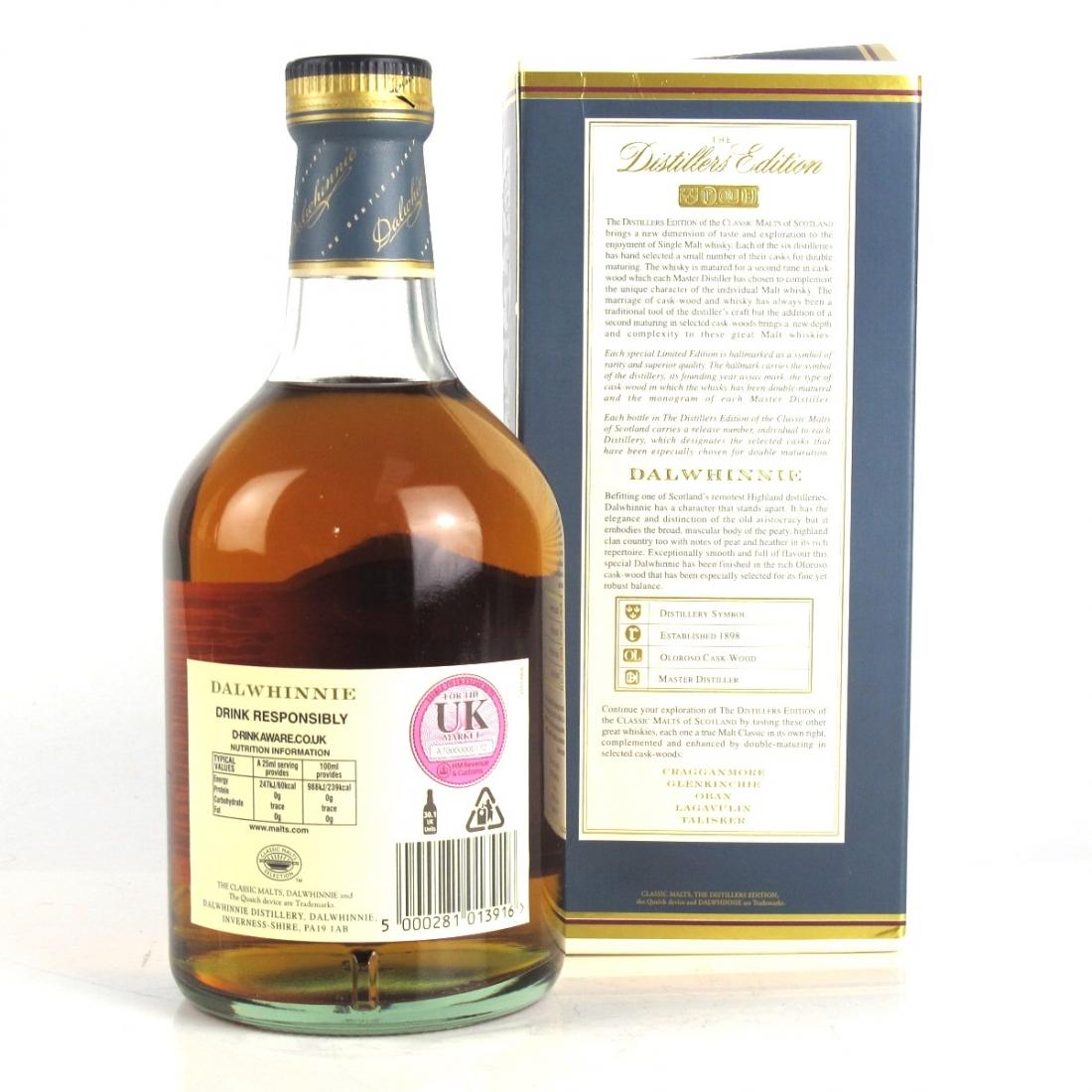 Dalwhinnie 1990 Distillers Edition 2006