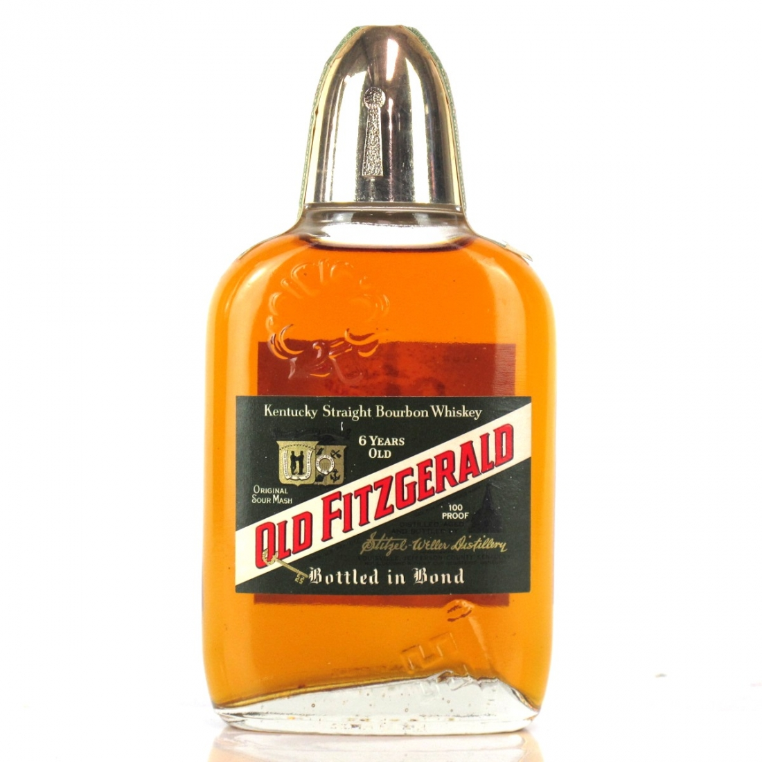 Old Fitzgerald 1967 Bonded 6 Year Old Half Pint / Stitzel-Weller