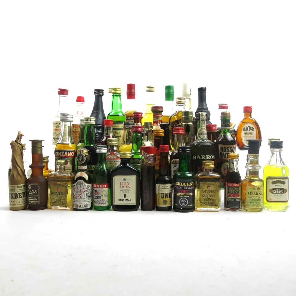 Assorted Miniature Selection 43 x 5cl