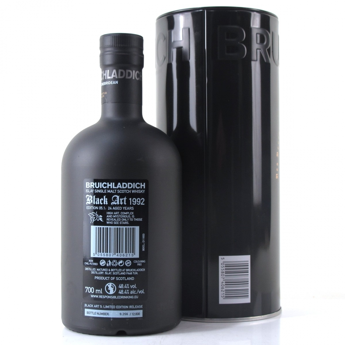 Bruichladdich 1992 Black Art 24 Year Old 5.1 Edition
