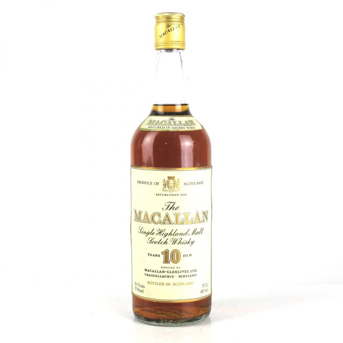 Macallan 10 Year Old 1970s