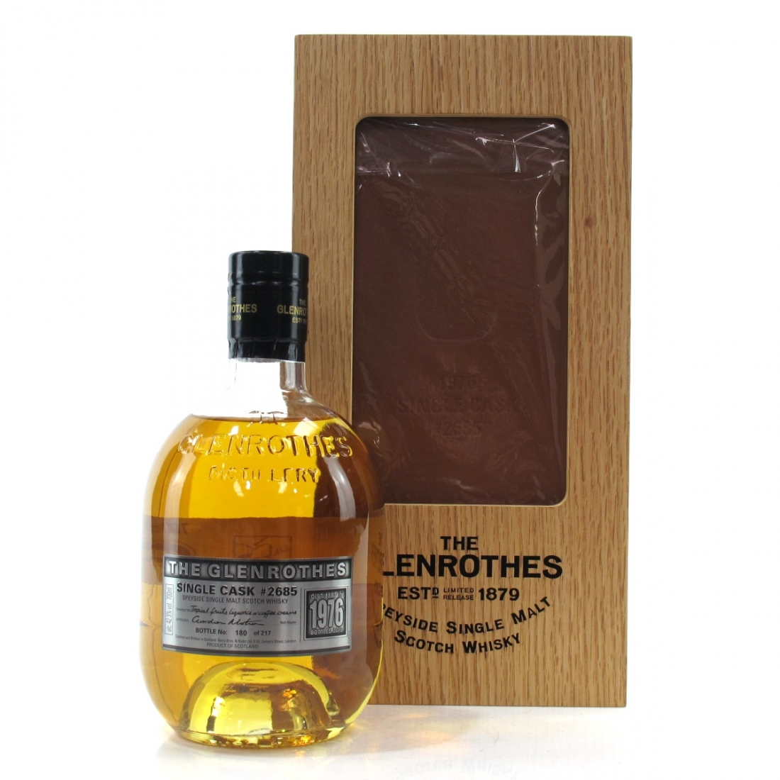 Glenrothes 1976 Brothers Casks 39 Year Old #2682 & #2685 2 x 70cl / Number Matched Set