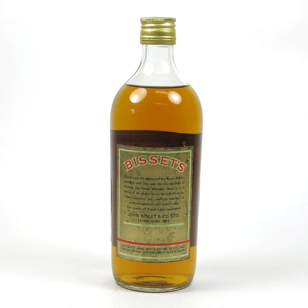 Bisset's Gold Label Circa 1960s