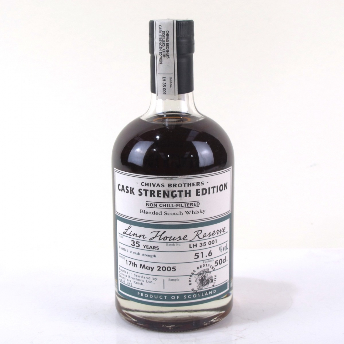Linn House Reserve Cask Strength 35 Year Old / Distillery Exclusive