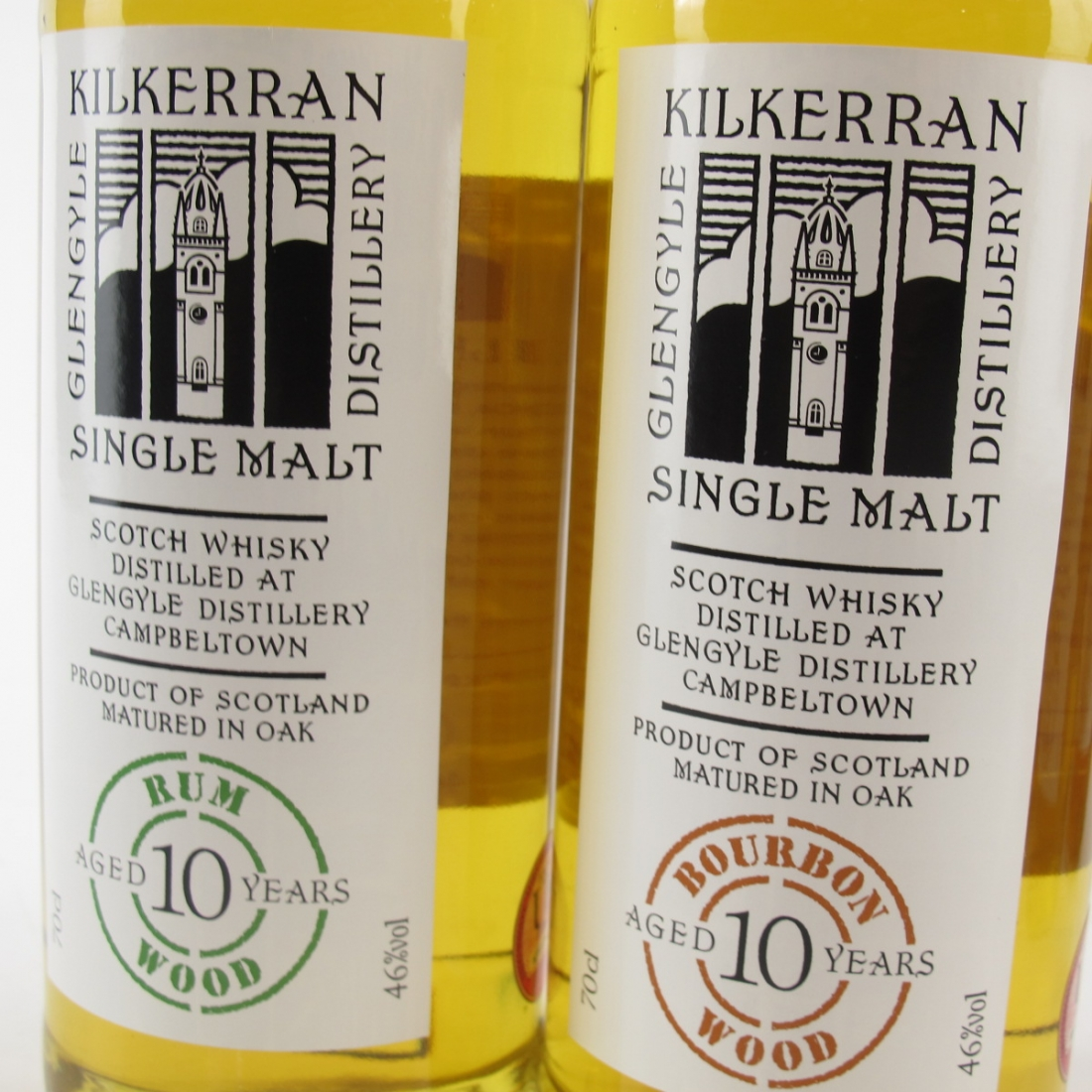Kilkerran 10 Year Old Complete Set 6 x 70cl / 10th Anniversary
