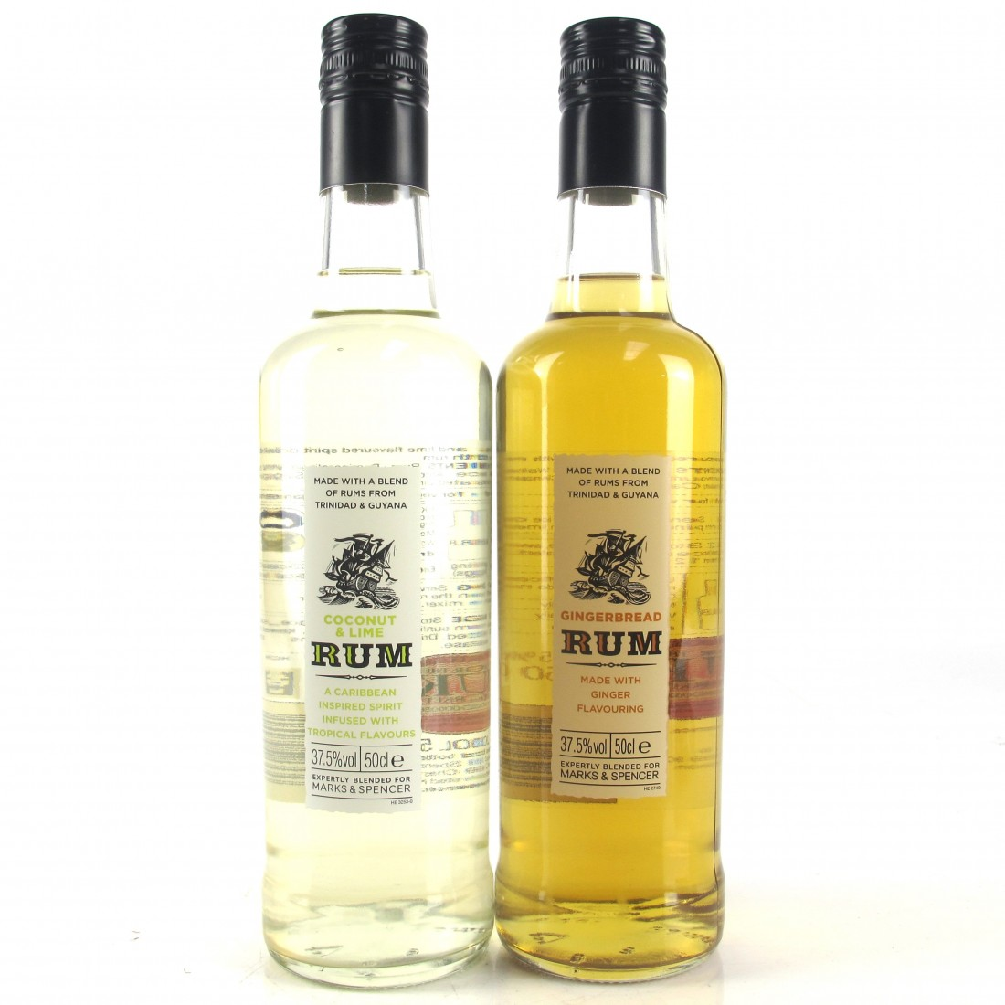 Marks & Spencer Rum Selection 2 x 50cl
