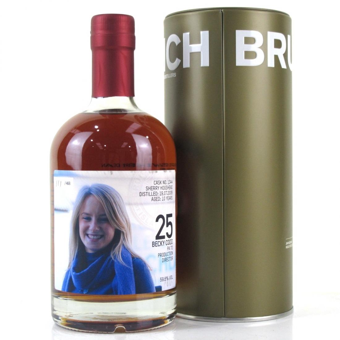 Bruichladdich 2006 Becky Codd Valinch 10 Year Old #1344