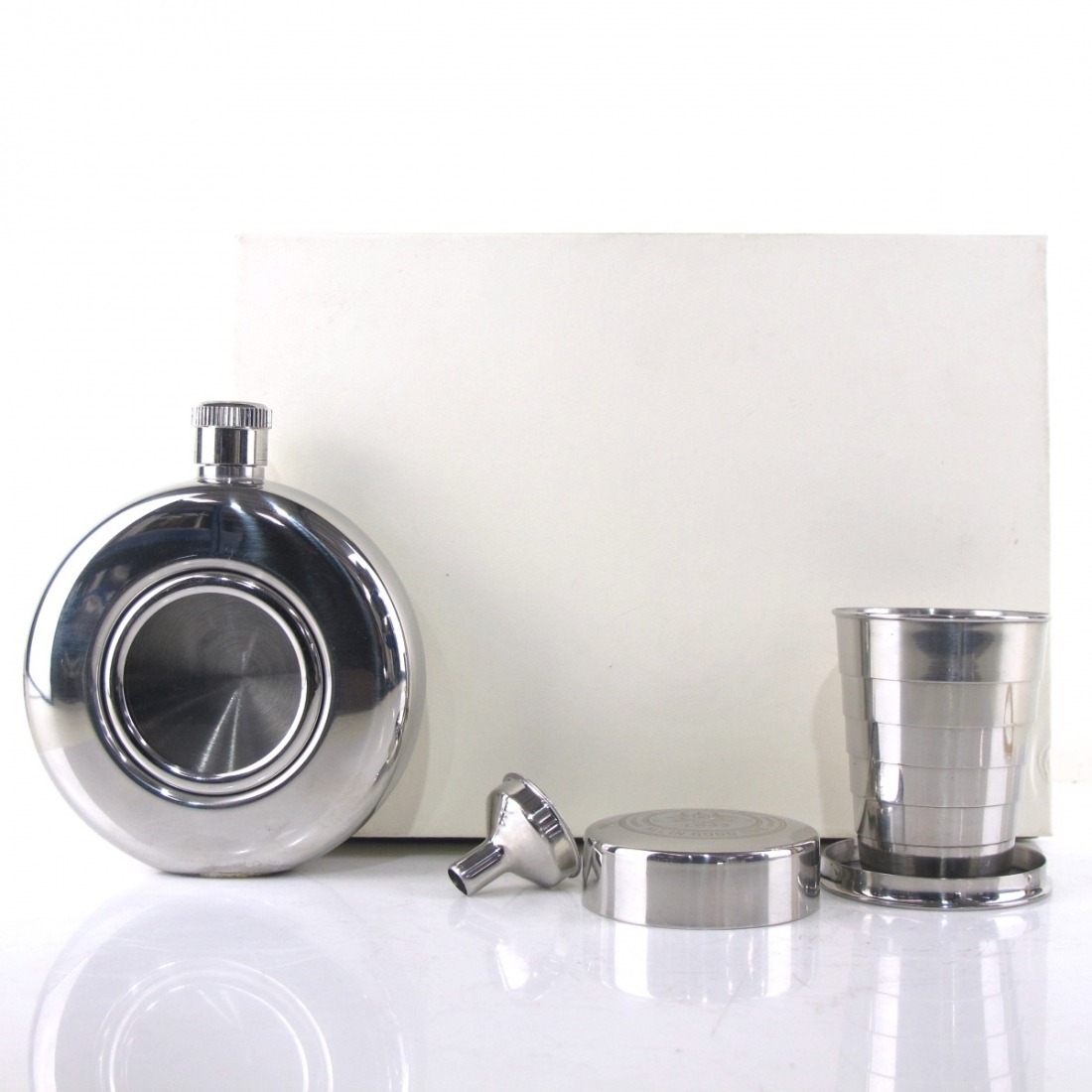 Glengoyne Hip Flask and Cup