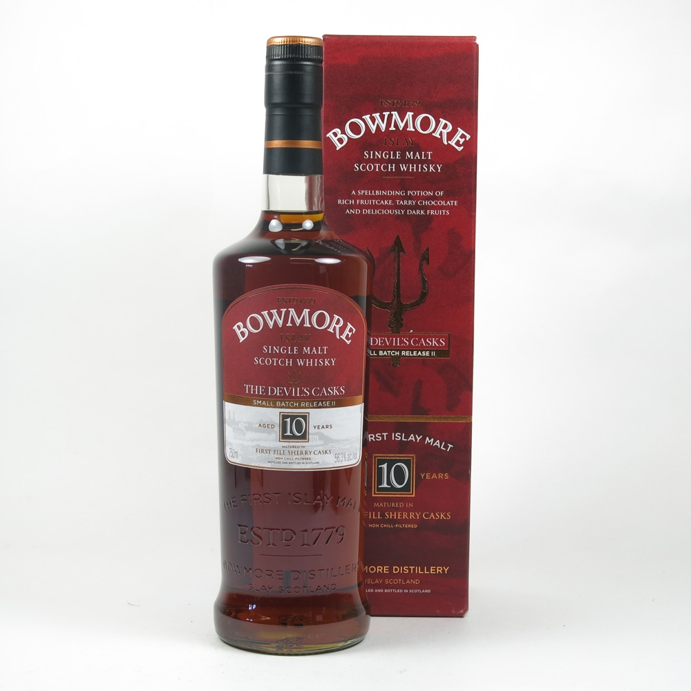 Bowmore Devil's Cask 10 Year Old Batch #2 75cl (US Import)
