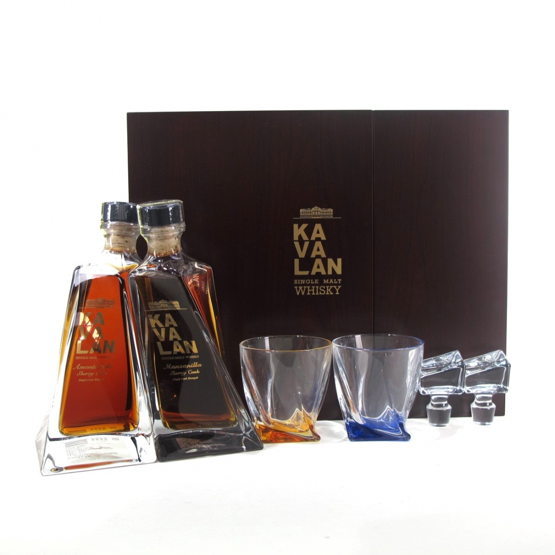 Kavalan Cask Strength Amontillado and Manzanilla Gift Set