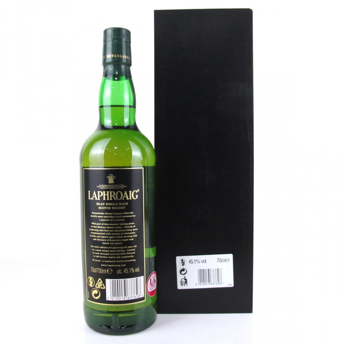 Laphroaig 25 Year Old 2014 Cask Strength Edition