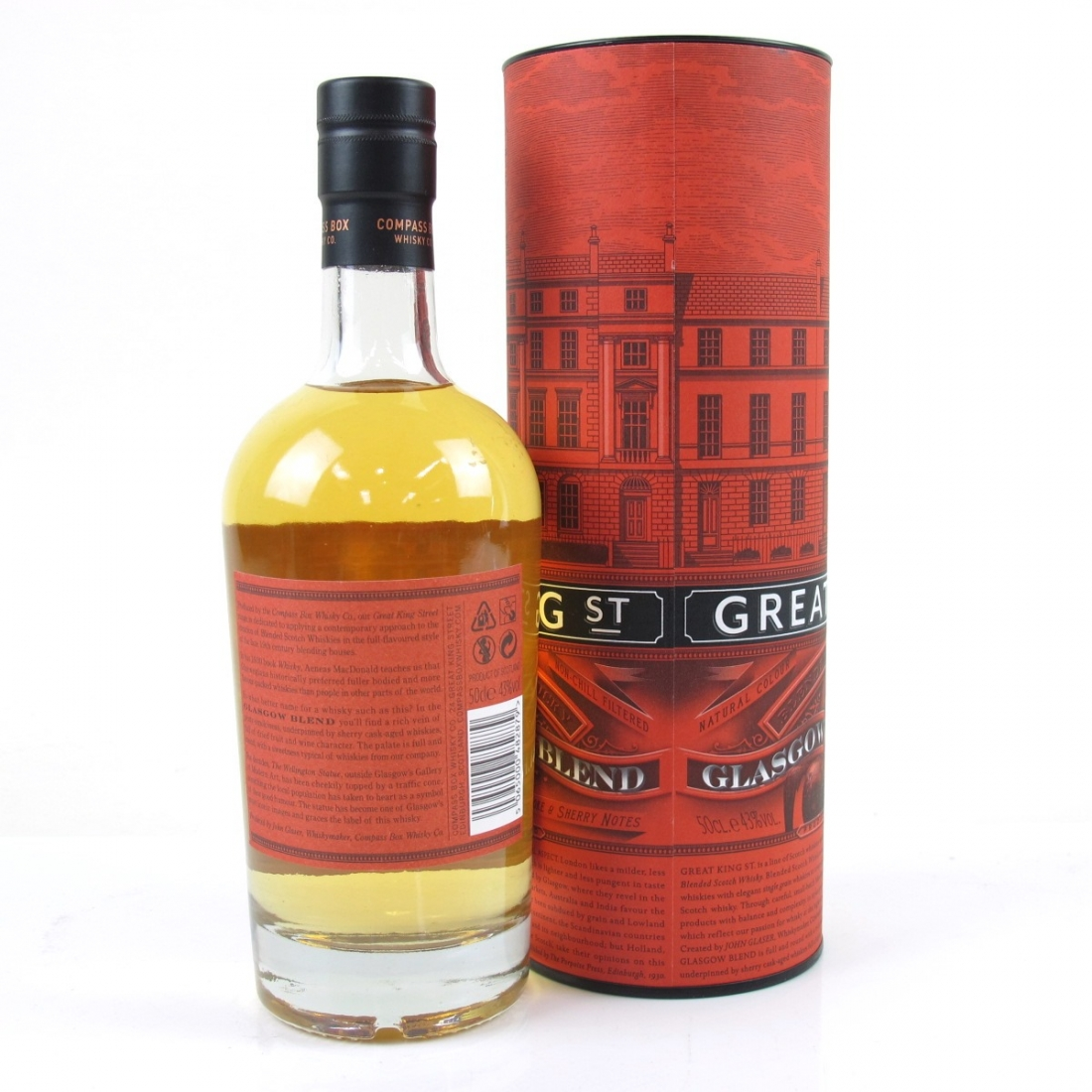 Compass Box Great King Street / Glasgow Blend 50cl
