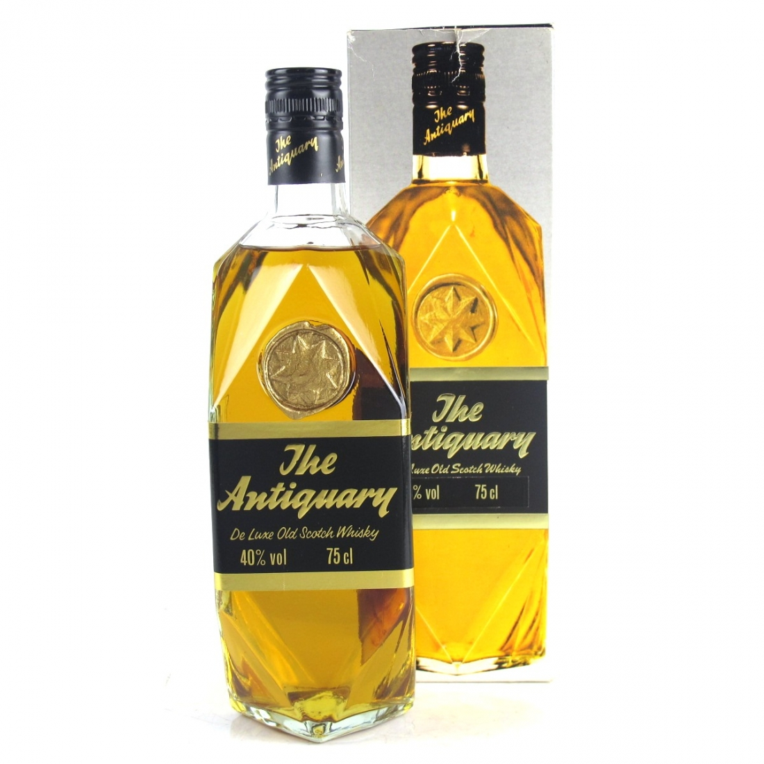 Antiquary De Luxe Scotch Whisky 1980s