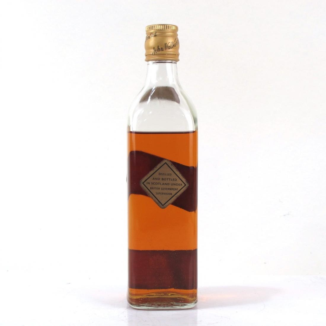 Johnnie Walker Black Label Half Bottle 1960s