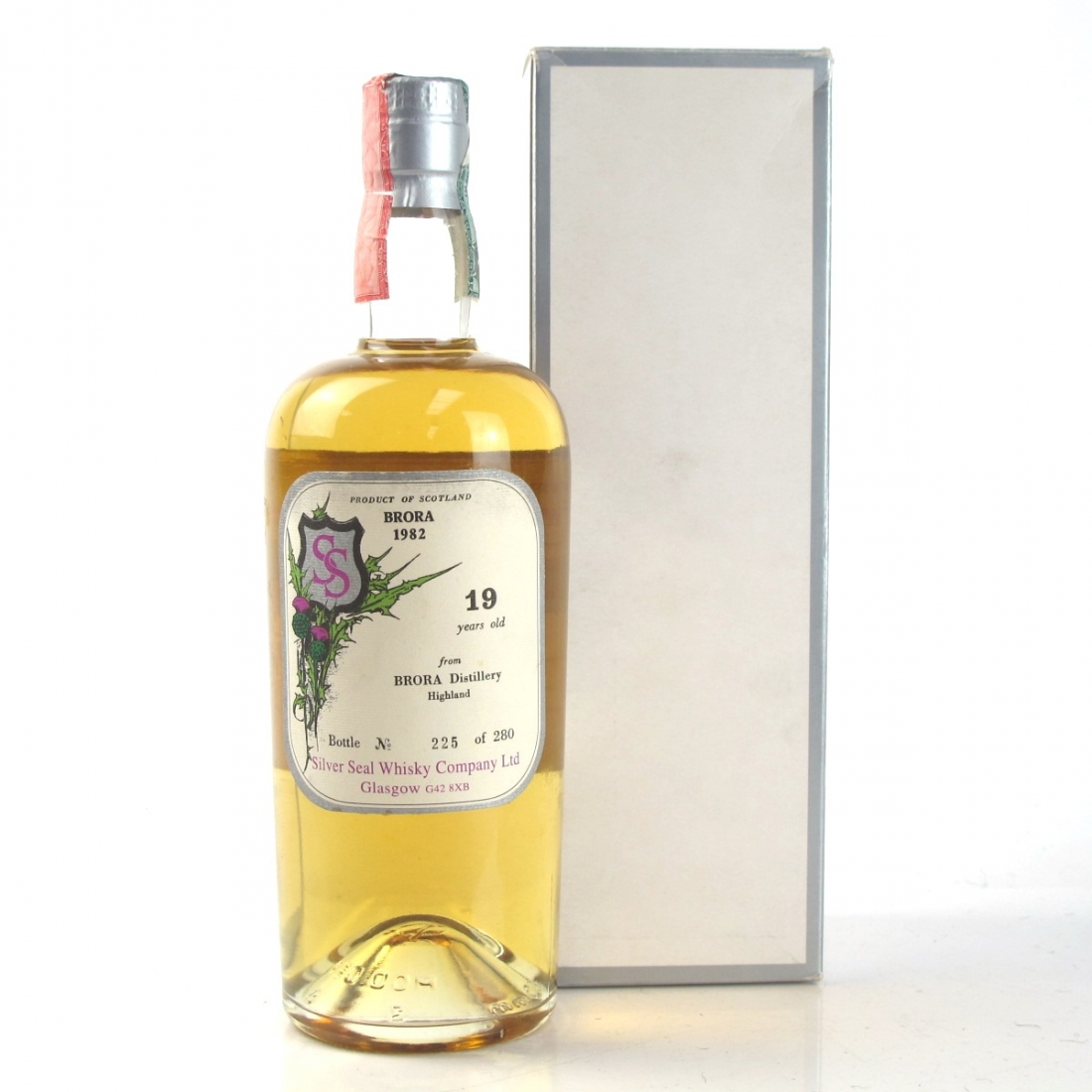 Brora 1982 Silver Seal 19 Year Old / First Bottling