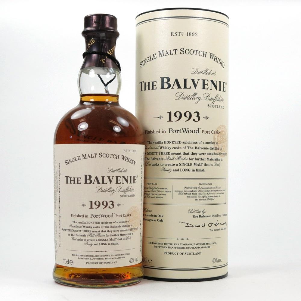 Balvenie 1993 Port Wood Front