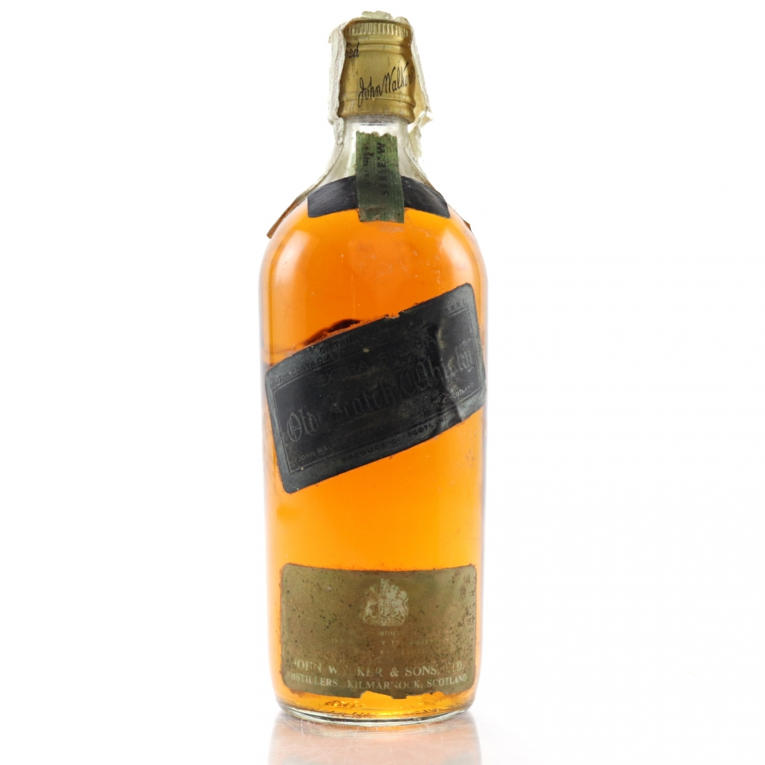 Johnnie Walker Black Label 1960s / Portuguese Import