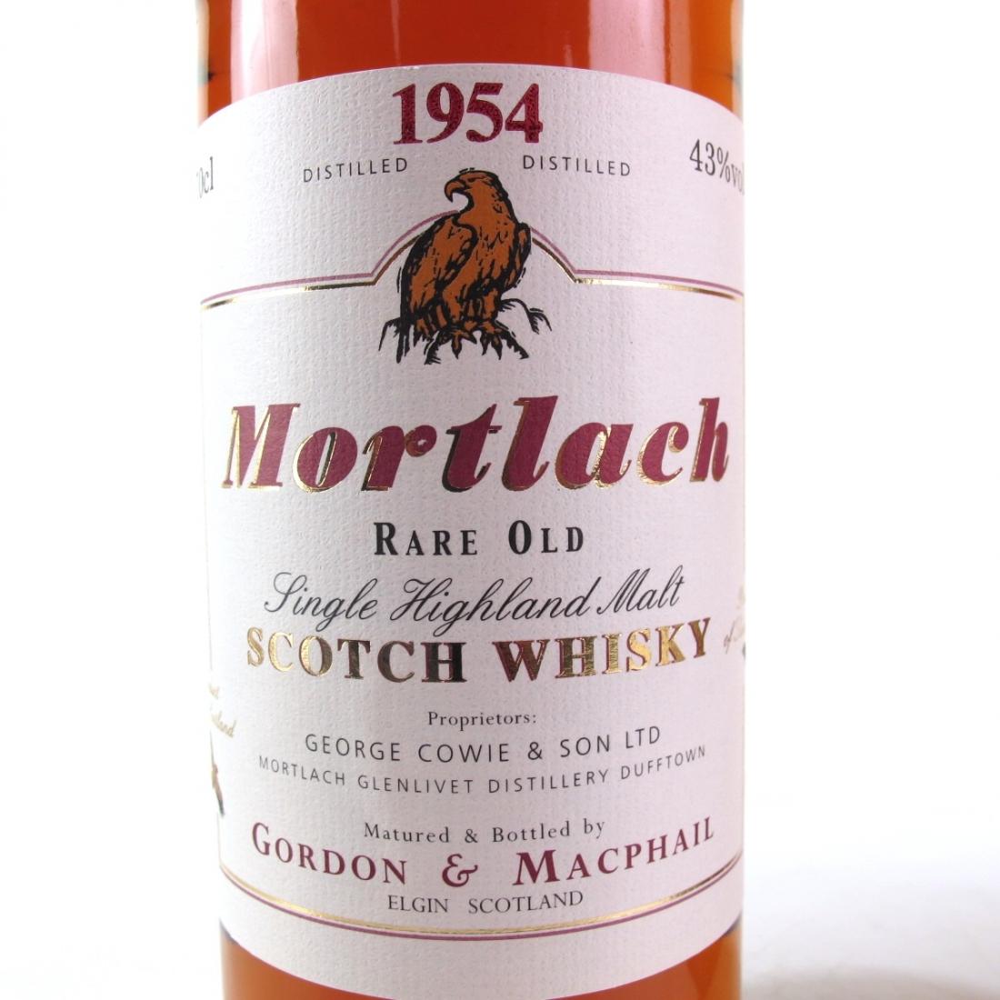 Mortlach 1954 Gordon and MacPhail
