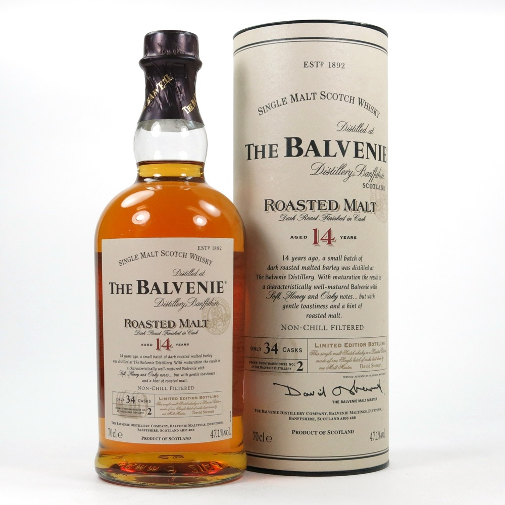 Balvenie 14 Year Old Roasted Malt Front
