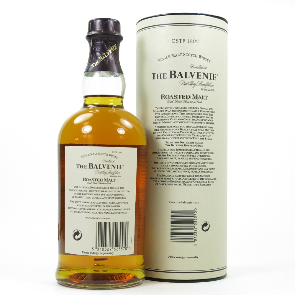 Balvenie 14 Year Old Roasted Malt Back