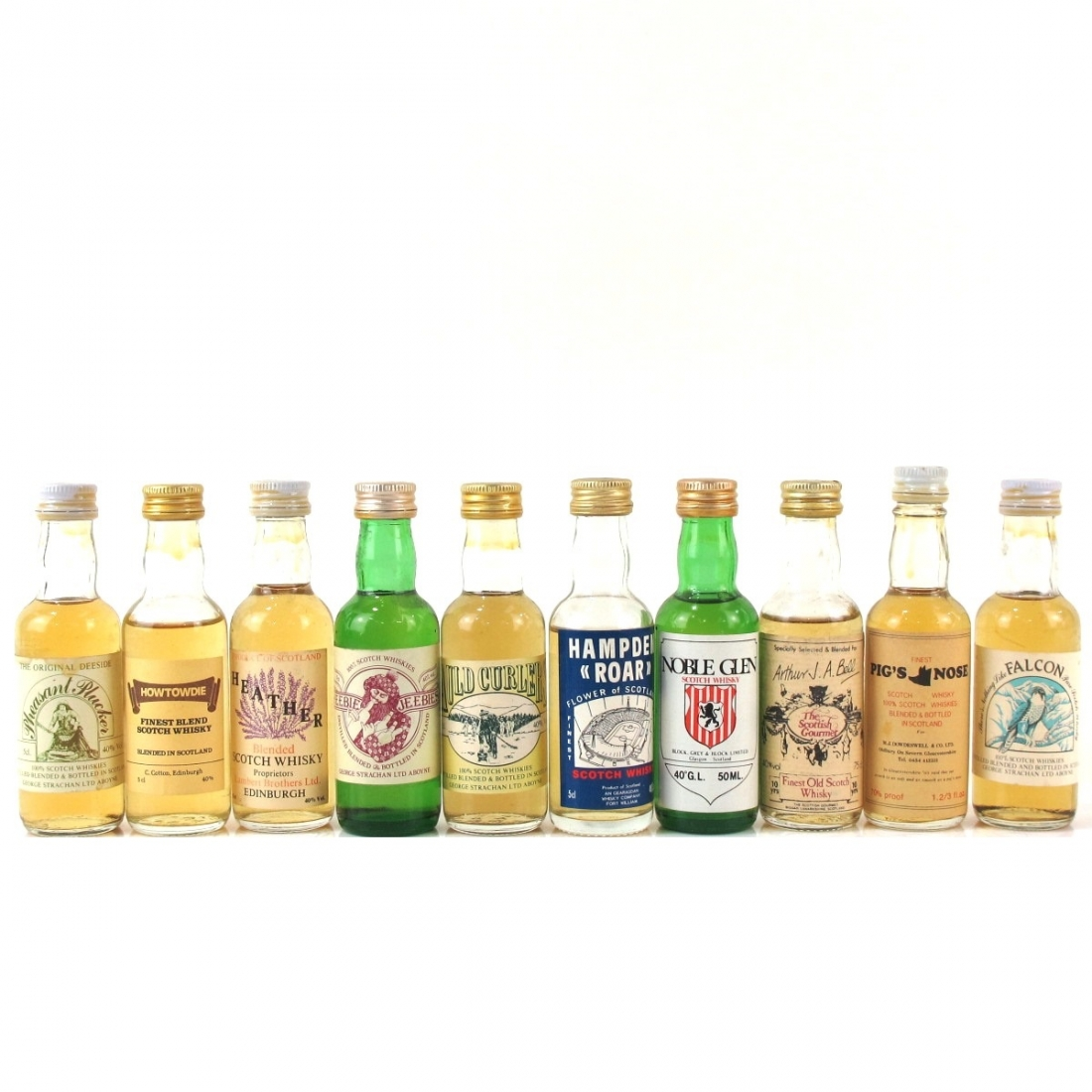 Miscellaneous Blended Miniature Selection 10 x 5cl