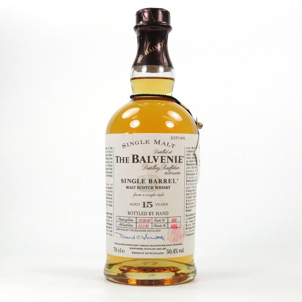 Balvenie 1984 15 Year Old Single Barrel