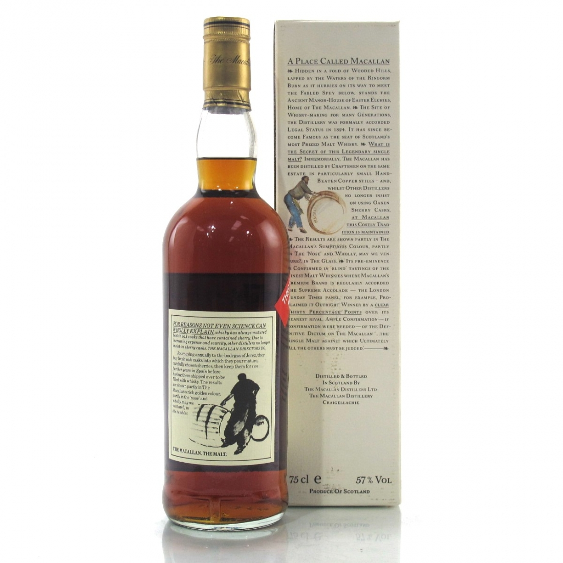 Macallan 10 Year Old 100 Proof 1980s