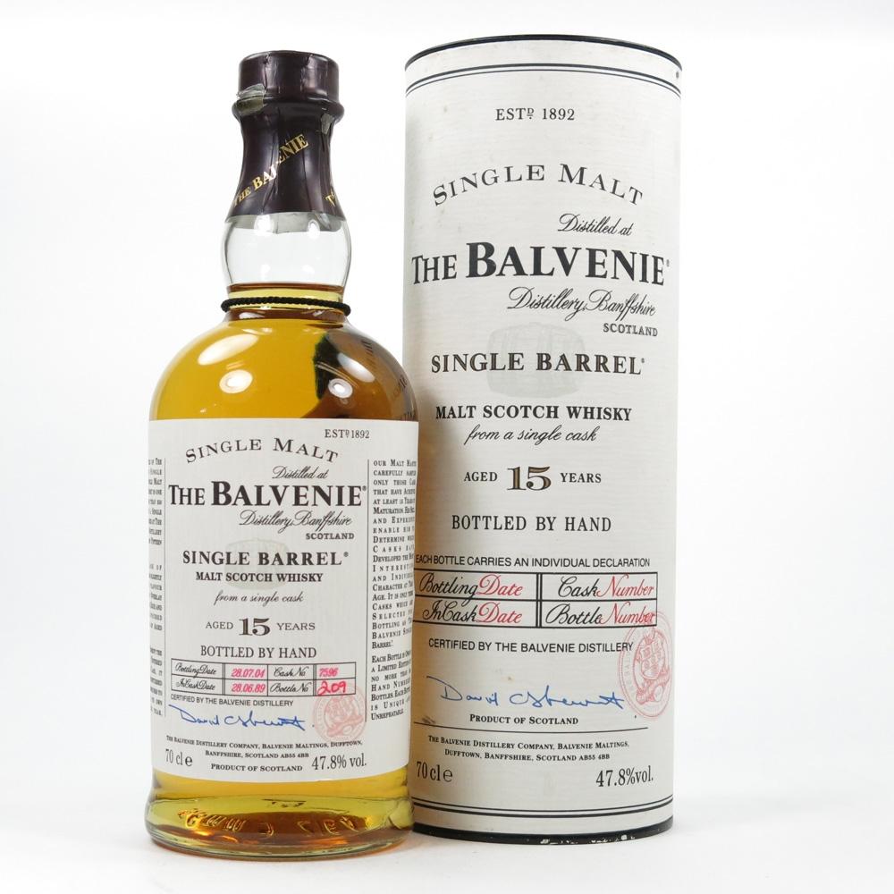Balvenie 1989 15 Year Old Single Barrel