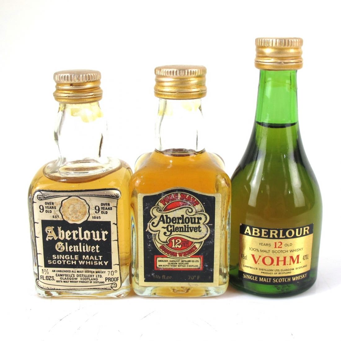 Aberlour Miniature Selection x 3