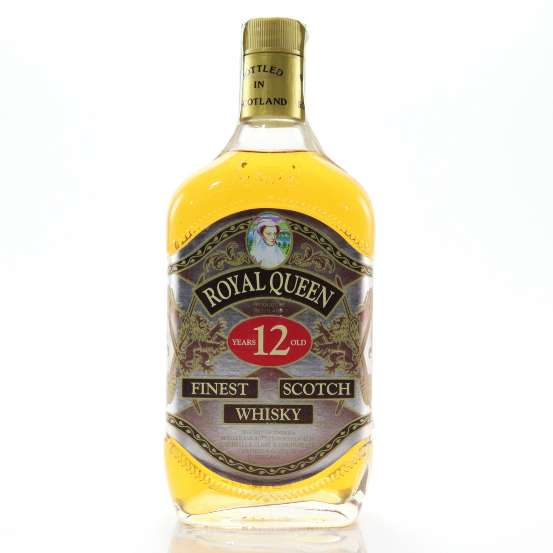 Royal Queen 12 Year Old Finest Scotch