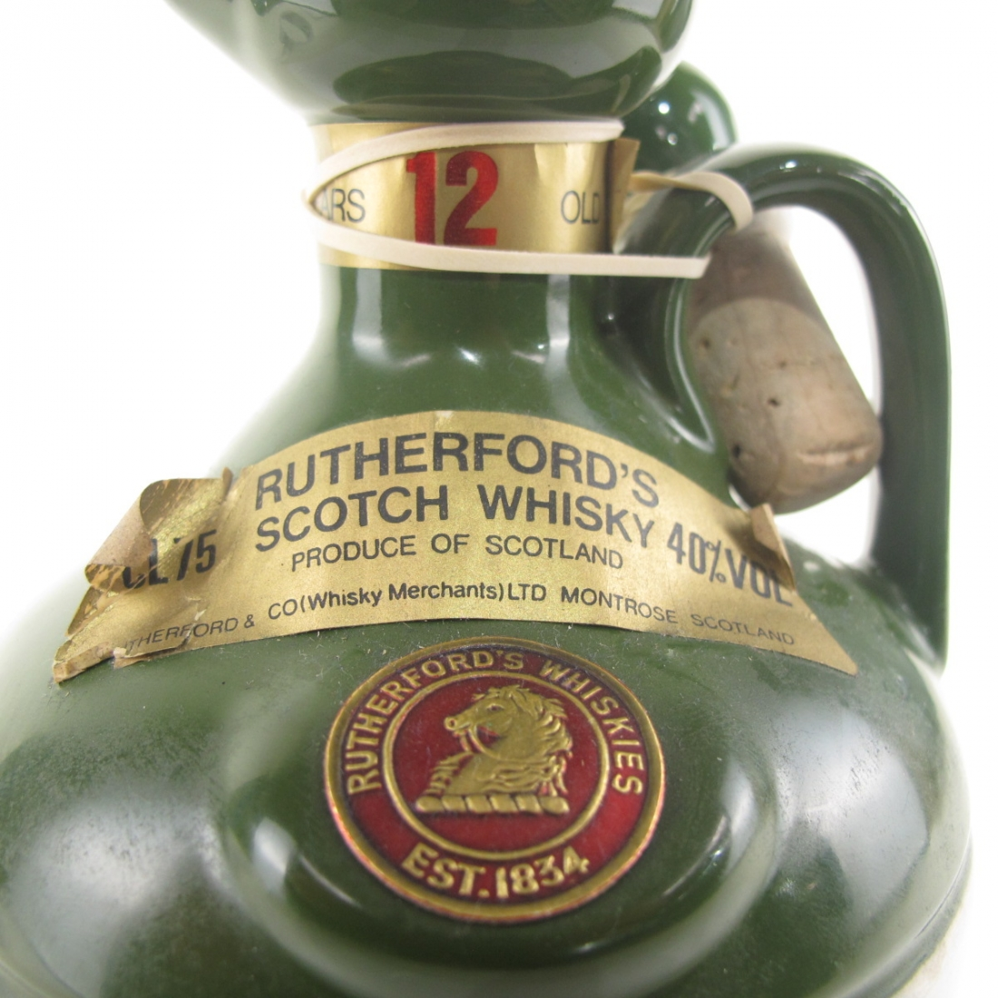 Rutherford's 12 Year Old Decanter 1980s