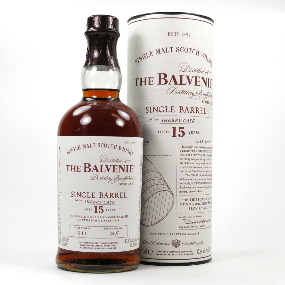 Balvenie 15 Year old Single Barrel / Sherry Cask Front
