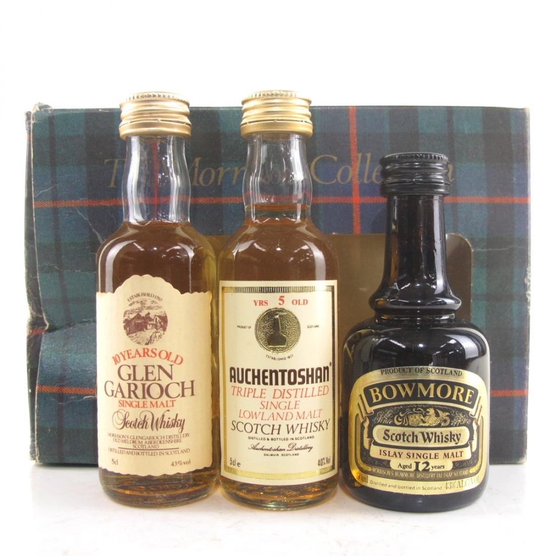 Morrison Collection 3x5cl / Auchentoshan, Bowmore & Glen Garioch