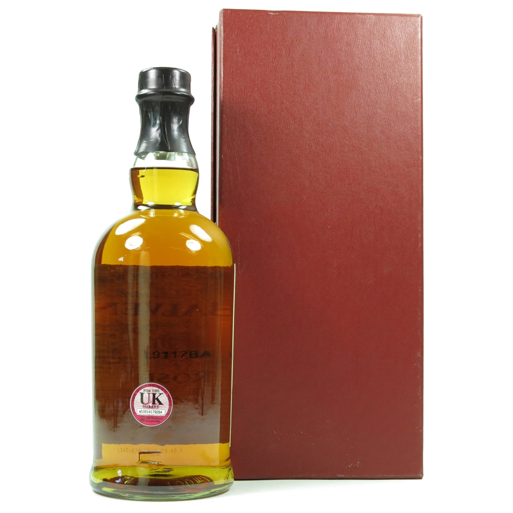 Balvenie Rose 16 Year Old / Second Edition Back