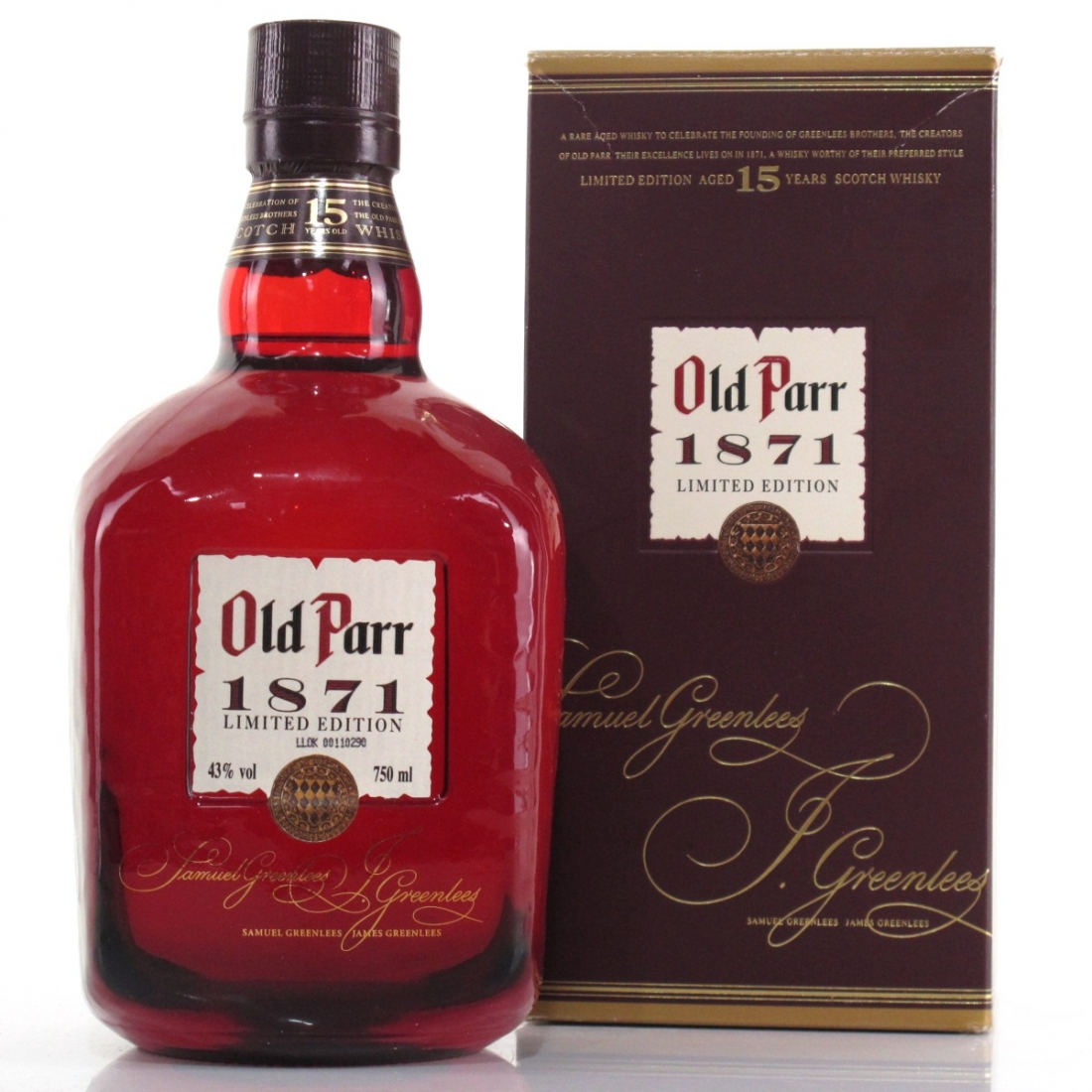 Old Parr 15 Year Old '1871' Limited Edition
