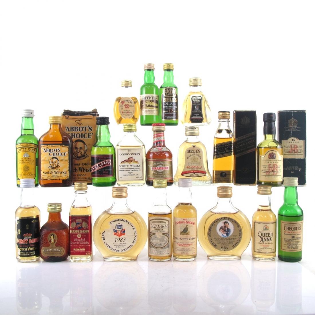 Scotch Whisky Selection 21 x Miniature