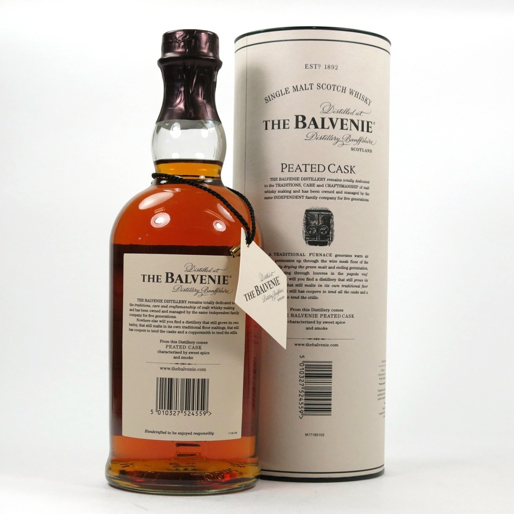 Balvenie 17 Year Old Peated Cask Back