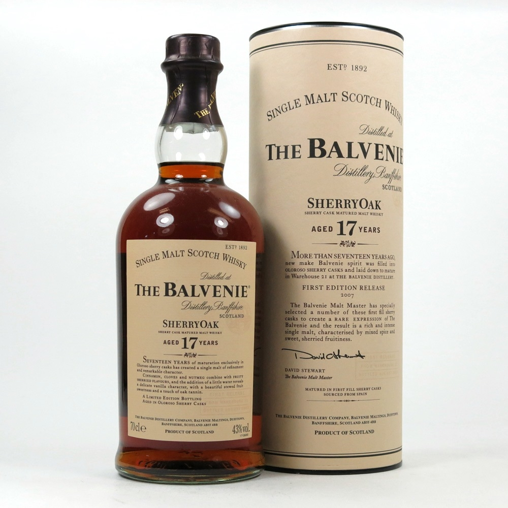 Balvenie 17 Year Old Sherry Oak Front