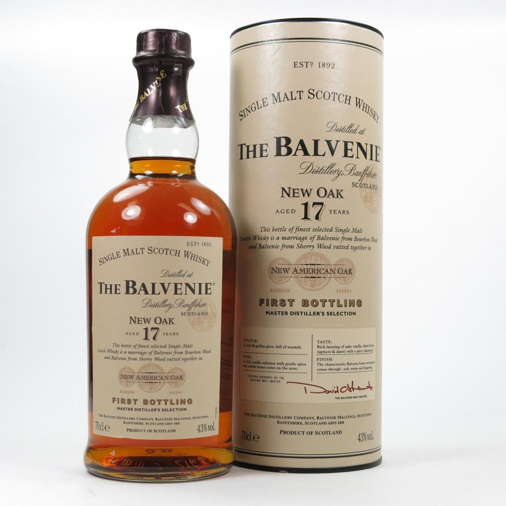 Balvenie 17 Year Old New Oak Front