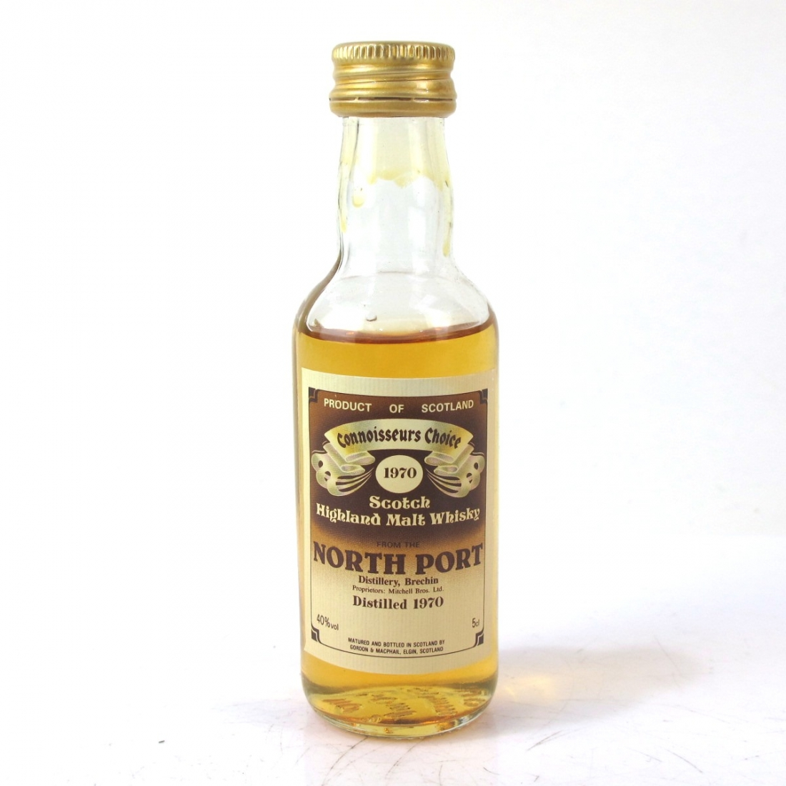 North Port 1970 Gordon and MacPhail Miniature 5cl